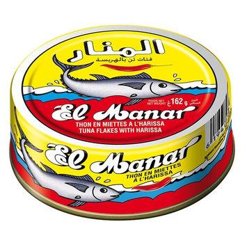 El Manar Tuna Flakes w/ Harissa 160g 10 Pack