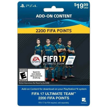 Incomm FIFA 17 Ultimate Team FIFA Points 2200 Sony