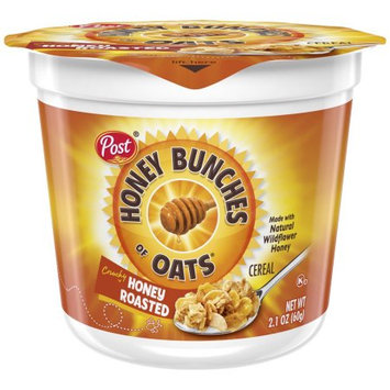Post Honey Bunches Of Oats Cereal Honey Roasted, 2.1 Oz (Case of 12)