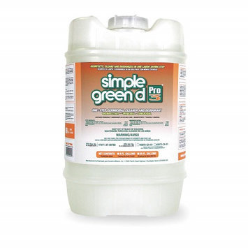 SIMPLE GREEN 3300000130305 Disinfectant/Deodorizer,5 gal,1:64