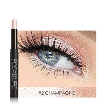 Eyeshadow Pencil ,Sefter Beauty Pro Highlighter Eye Shadow Stick Cosmetic Lying Silkworm Big Smokey Eyes Shimmer Automatically Rotate Glitter Eye Liner Pen Makeup Set