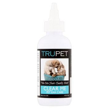 TruDog Clear Me Cat & Dog Ear Cleaner, 4-oz bottle