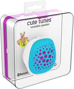 Zeikos Ihip Cute Wearable Bluetooth Speaker Teal