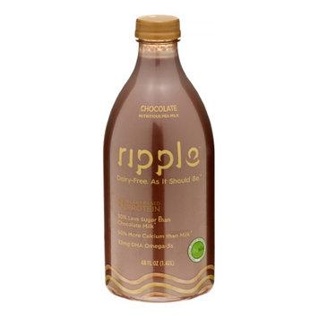 Ripple Plant-Based Milk, Chocolate, 48 Fl Oz