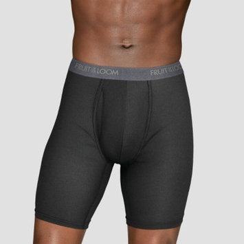 Fruit of the Loom Select Men's Everlight Long Leg Boxer Briefs 3pk - M