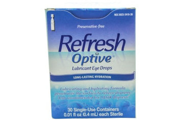 Refresh Optive Lubricant Eye Drops, 0.4 mL per Drop