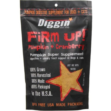 Diggin Your Dog Firm Up Pumpkin + Cranberry Supplement