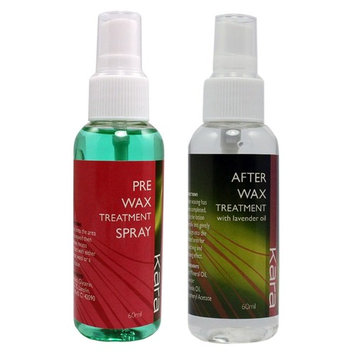 PRE & After Wax Treatment Spray Liquid Hair Removal Remover Waxing Sprayer Set, Ship from USA,Brand riverview