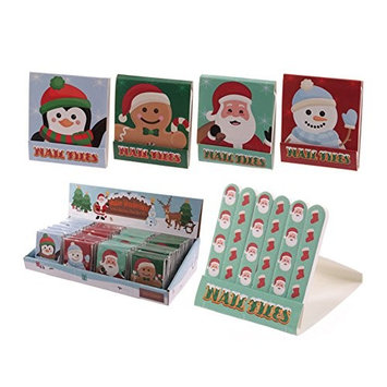Nail File Match Book Christmas Design by Puckator