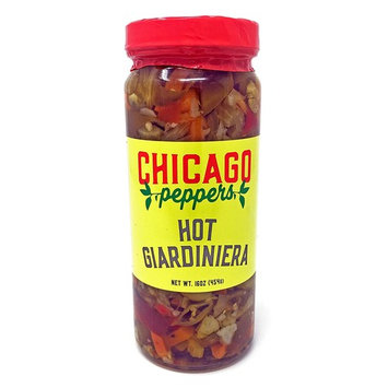 Chicago Peppers Hot Giardiniera 16oz