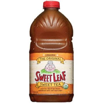 Sweet Leaf USDA Organic Iced Tea - Original Sweet Tea, 64 Oz (plastic) (Case of 8)