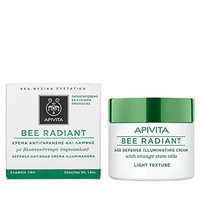 Apivita Bee Radiant Age Defense Illuminating Cream Light Texture 50Ml/1.76Oz