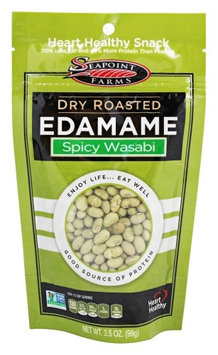 SeaPoint Farms - Edamame Dry Roasted Spicy Wasabi - 3.5 oz(pack of 4)