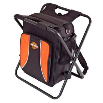Harley Davidson by Athalon Backpack Cooler Seat Black - Harley Davidson by Athalon Travel Coolers
