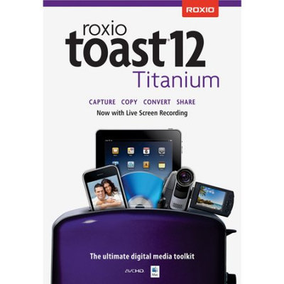 Roxio RT12TMACML Roxio Toast 12 Titanium ML Mac (Digital Code)