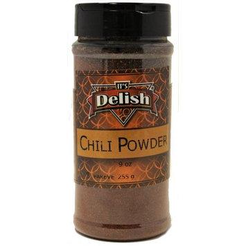 Dark Chili Powder by Its Delish, 9 oz Medium Jar