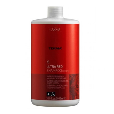 Lakme Teknia Ultra Red Shampoo 33.8 oz (1000 ml)