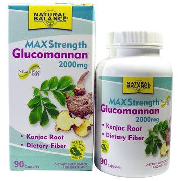 Natural Balance Glucomannan™ MaxStrength -- 2000 mg - 90 Capsules