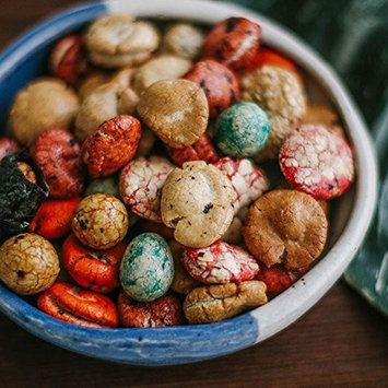 Oriental Rice Cracker Iso Peanut Mochi Balls - 14 Ounce - Asia Trans & Co.