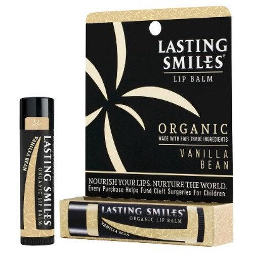 Lasting Smiles® Vanilla Bean Organic Lip Balm-0.15 oz