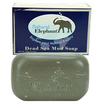 Natural Elephant Dead Sea Mud Soap 4.4 oz (125 g)