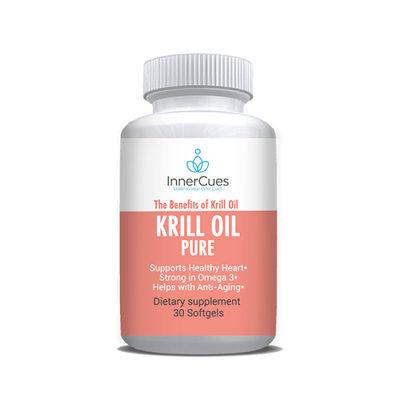 InnerCues Krill Oil - 30 Soft Gels