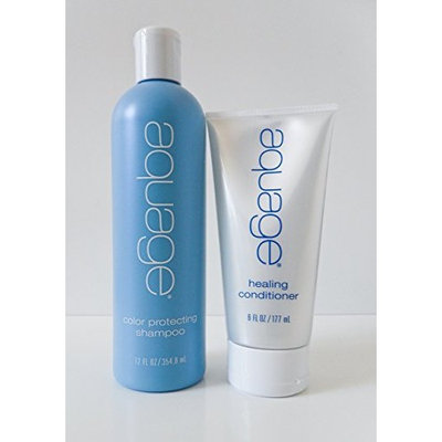 Aquage Color Protecting Shampoo 12oz and Healing Conditioner 6oz Gift Set