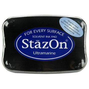 Imagine Crafts StazOn Solvent Ink Pad-Ultramarine
