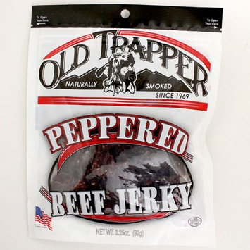 Old Trapper Peppered Beef Jerky, 3.65-Ounce Bags (Pack of 6)