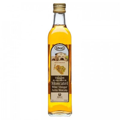 Unio Moscatel Wine Vinegar 500ml (17 oz) Bottle