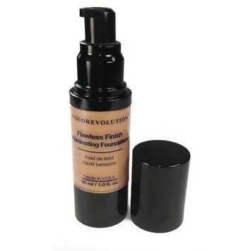 Colorevolution 100% Natural Mineral Liquid Foundation, T1 - Tan, 1.0 Fluid Ounce by Colorevolution