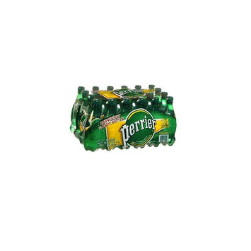 Perrier Watermelon Flavored Carbonated Mineral Water, 16.9 fl oz. Plastic Bottles (24 Count)