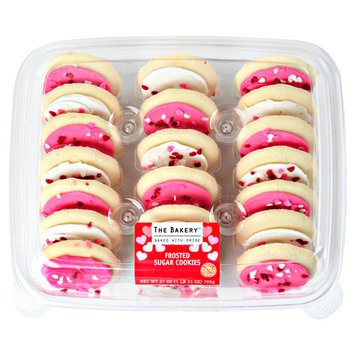 The Bakery Frosted Sugar Cookies, 27 oz, 21 Count