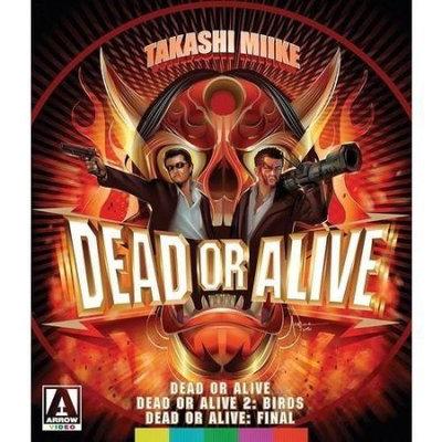 Arrow Video Dead Or Alive Trilogy Blu-ray