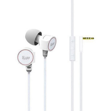 ILuv IEP425WHT ReF High Fidelity Stereo Earphone With SpeakEZ Remote For IPad IPhone IPod White H3C0DI89L-1612