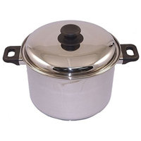Lindy's 12 Qt Stockpot, 7 Ply Extra Heavy Stainless Steel, 12t2