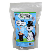 Healthy Dogma Rabbit Barkers, 8 Ounce Bag