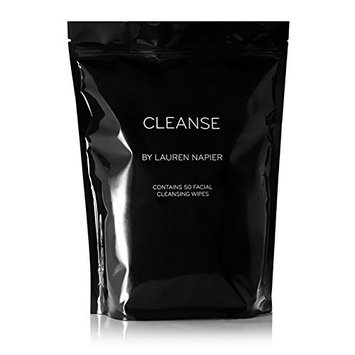 Lauren Napier - Natural CLEANSE Wipes (Abundance, 50 Individually Packaged Wipes)