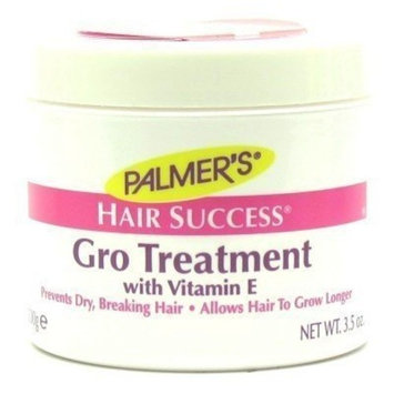 Palmers Hair Success Gro Treatment 3.5 oz. Jar (3-Pack) with Free Nail File