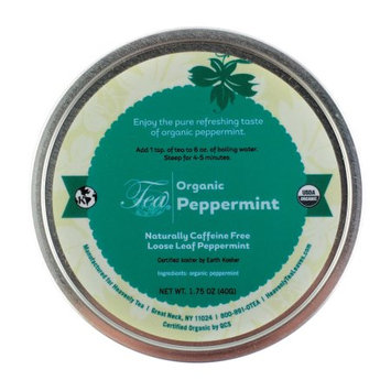 Heavenly Tea Inc. Heavenly Tea Leaves Organic Peppermint Loose Leaf Tisane Canister, 1.75 oz.