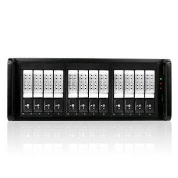 Istarusa, Inc iStarUSA DAGE412U40DE-ES DAS Array - Serial ATA/600, 6GB/s SAS Controller - 12 x Total Bays - eSATA - 4U Rack-mountable