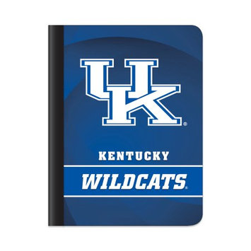 Markings by C.R. Gibson(R) Composition Book, 7 1/2in. x 9 3/4in, 1 Subject, College Ruled, 200 Pages (100 Sheets), Kentucky Wildcats Classic 1