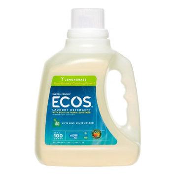 Earth Friendly Ecos Ultra 2x All Natural Laundry Detergent - Lemongrass - Case of 4 - 100 fl oz - HSG-285445