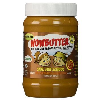 WowButter Creamy Soy Butter Spread 17.6 oz Jars - Single Pack