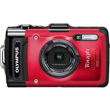 Olympus Optical Co Ltd Olympus Tough TG-2 iHS 12MP Red Digital Camera