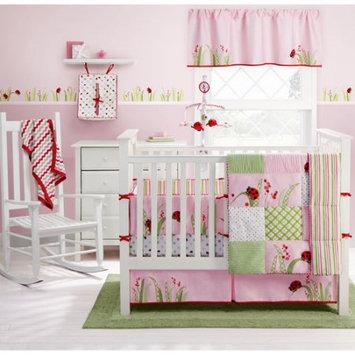 MiGi - Lady Bug 4-Piece Crib Bedding Set