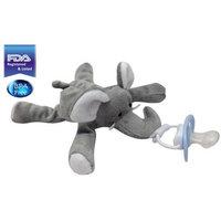 3b Global CuddlesMe Pacifier with Detachable Plush Elephant