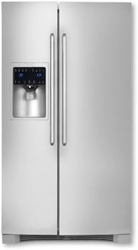 Electrolux 22.16 Cu. Ft. Side-by-Side Refrigerator - Stainless Steel
