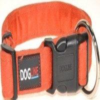Dogline M8004-4 13-21 L x 0. 75 W inch Comfort Microfiber Flat Collar, Orange