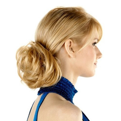 Tony of Beverly Womens Synthetic Hairpiece ''Swirly''-2: Darkest Brown